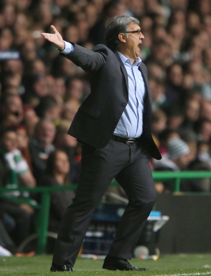 Tata Martino previously spent time as manager of Barcelona and Argentina