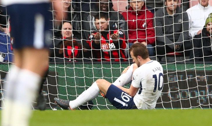 Kane spread some pre-World Cup fear when he suffered another injury against Bournemouth last March
