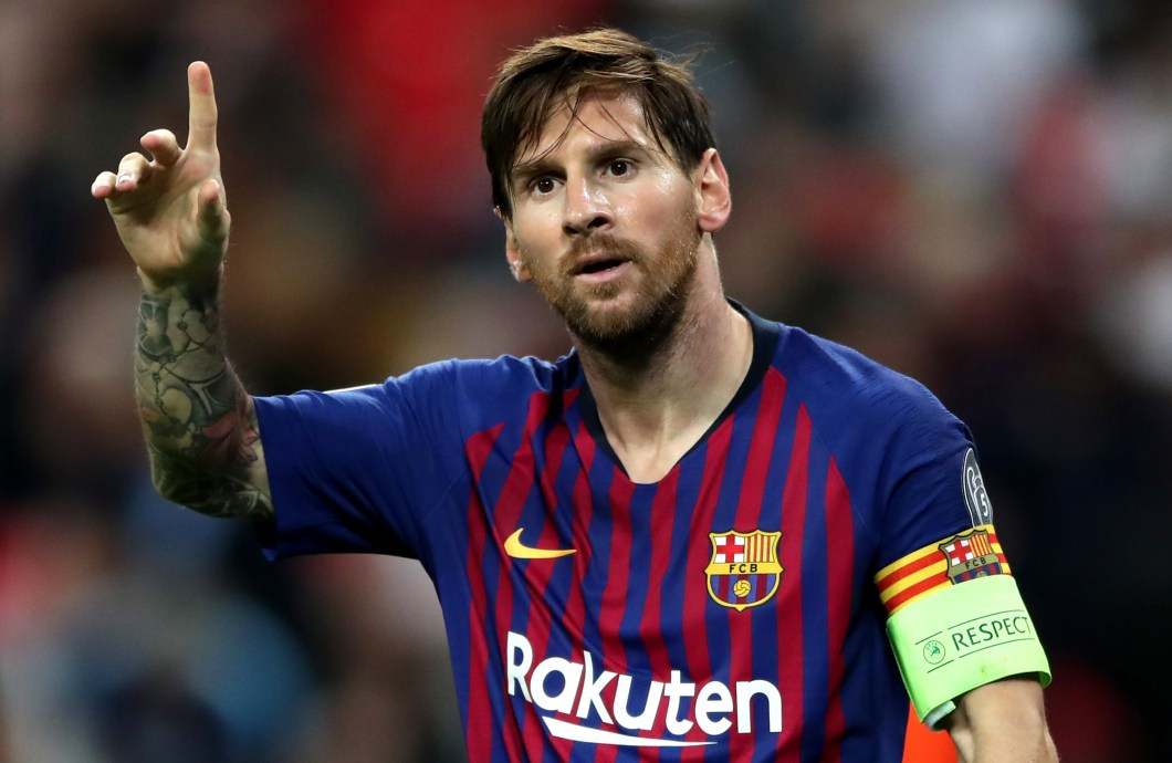 Lionel Messi will be looking to torment another English side in the semis