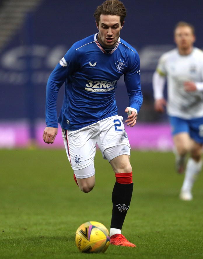 Rangers' Scott Wright was signed in January