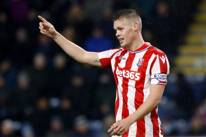 Stoke City's Ryan Shawcross was formerly on the books of Manchester United