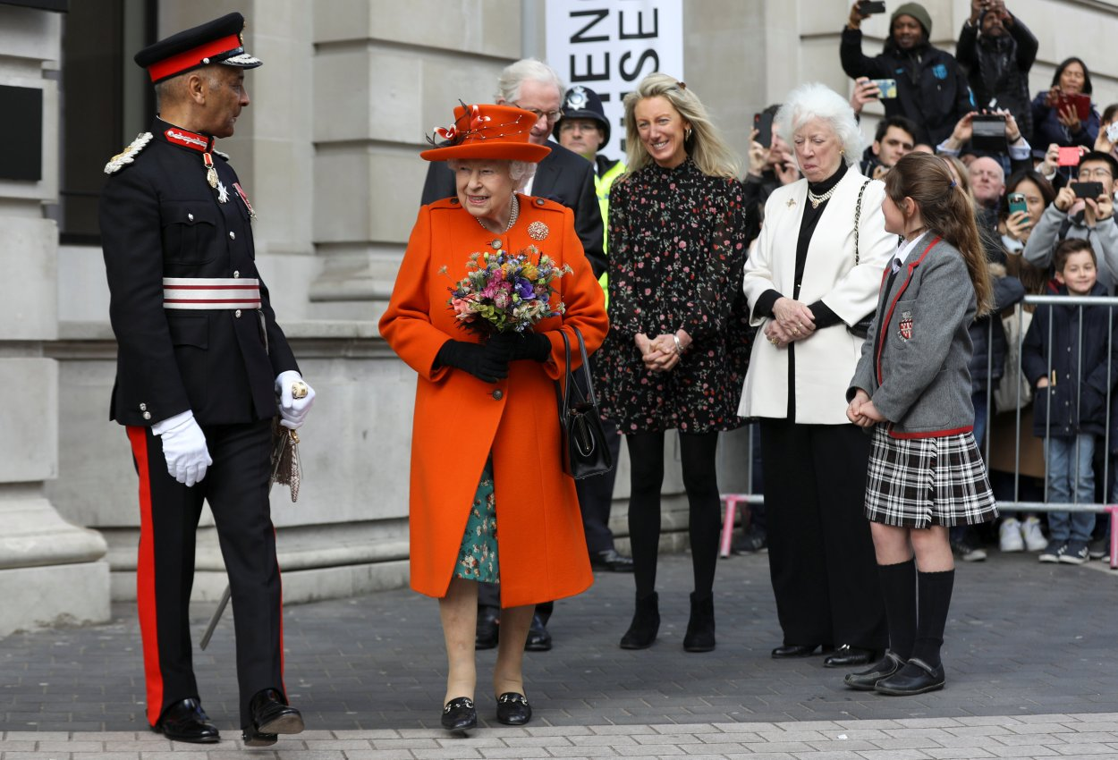 Queen Elizabeth II visits Science Museum