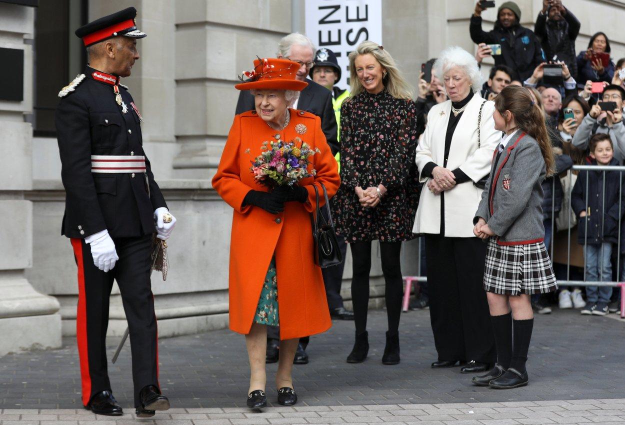 Queen Elizabeth II visits Science Museum