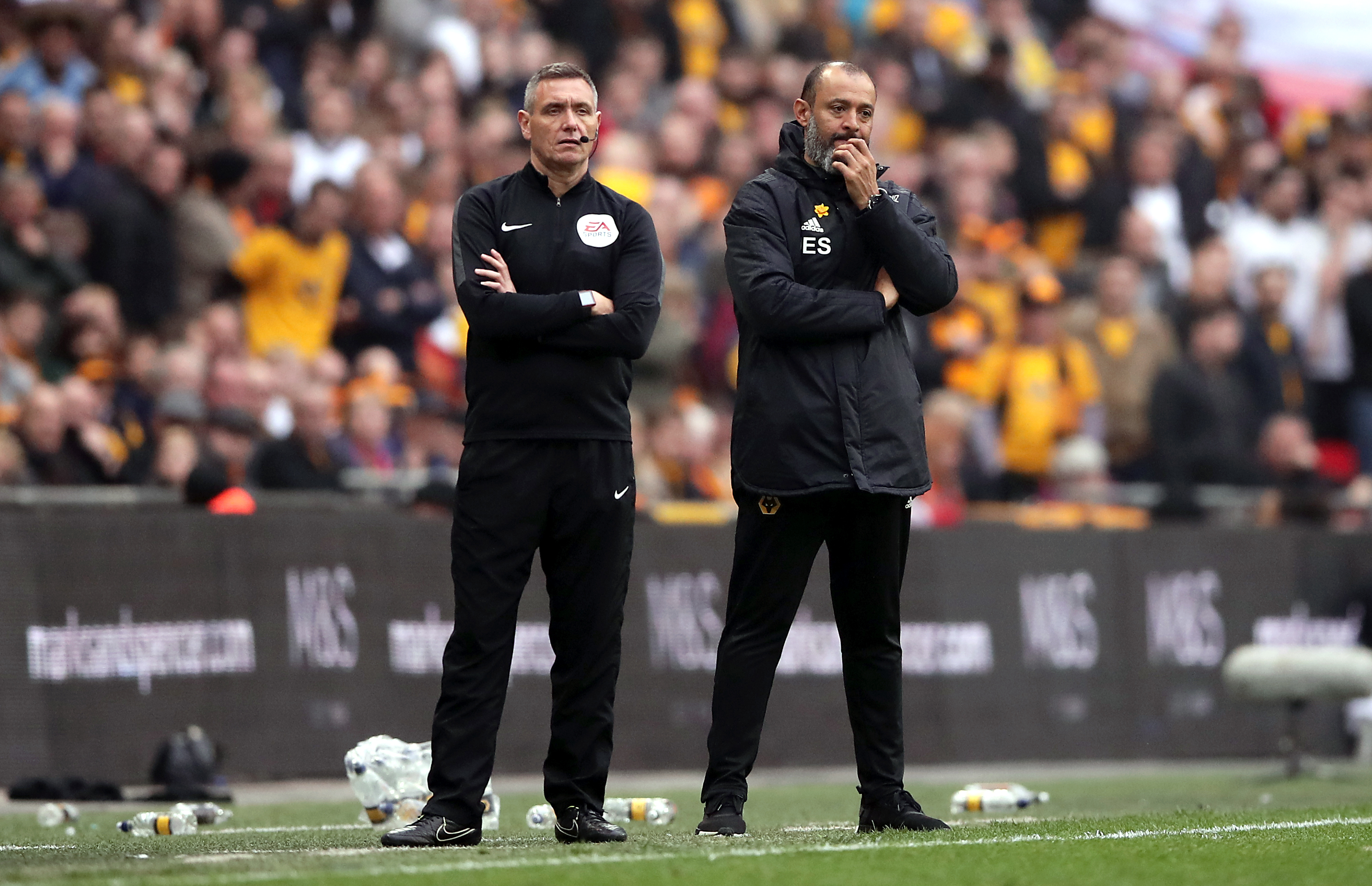 Wolves manager Nuno Espirito Santo was unable to stop the match slipping away from his team in extra-time