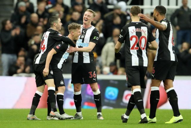 Newcastle Celebrate Rare Joelinton Strike As They See Off