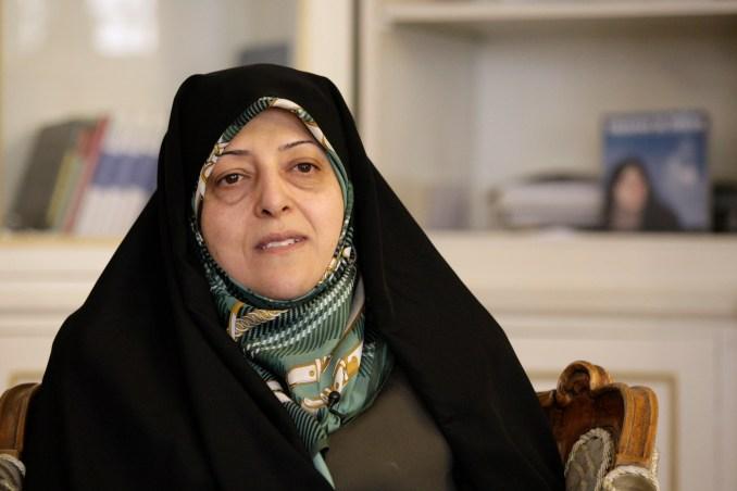 Masoumeh Ebtekar, a vice president in the Islamic Republic