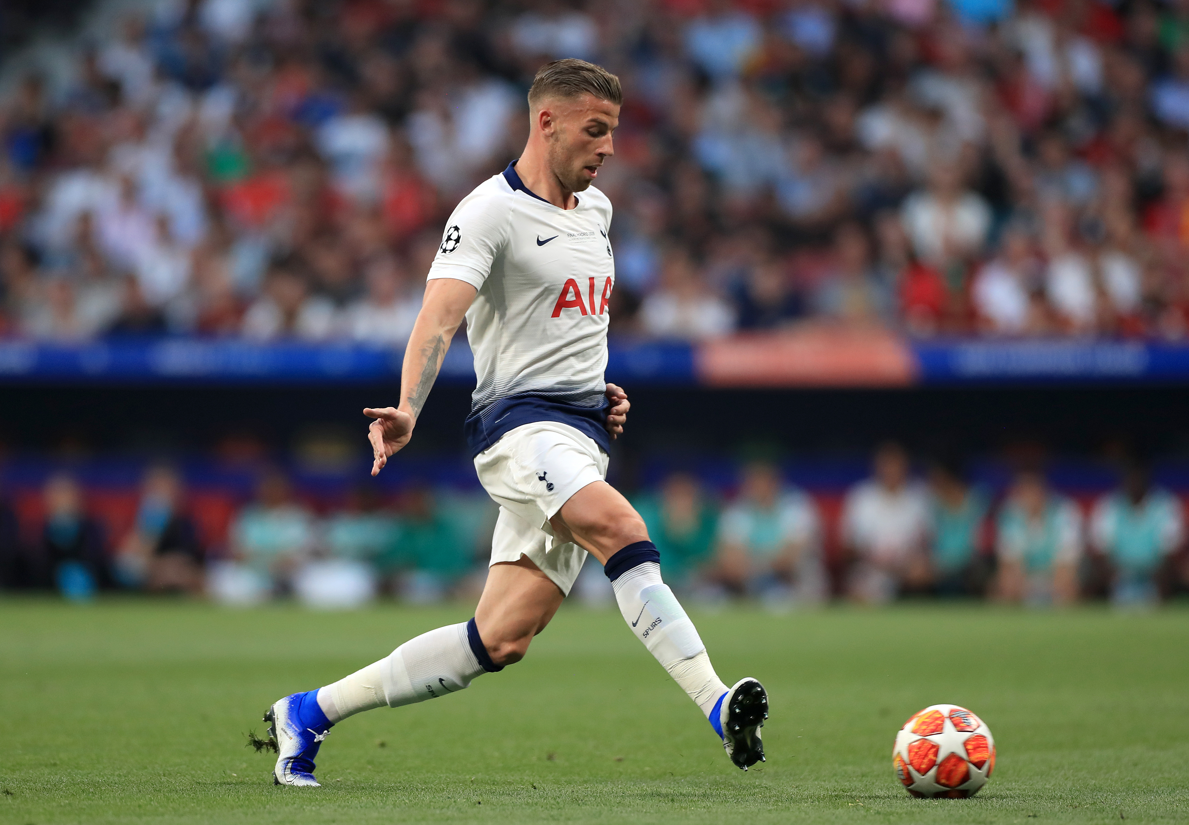 Toby Alderweireld has been linked with a move away from Tottenham