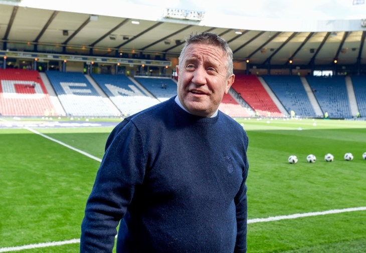 John Robertson has not enjoyed the best of success at Hampden