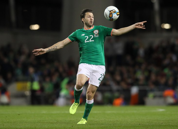 Harry Arter is back in the Ireland squad