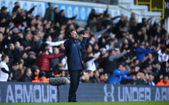 Andre Villas-Boas' time at Tottenham was abruptly ended after a 5-0 home defeat to Liverpool (John Walton/PA)