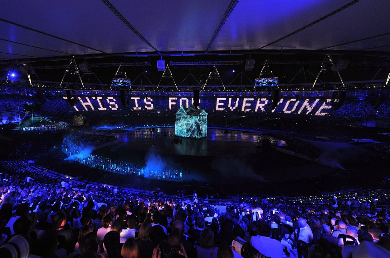 London Olympic Games opening ceremony