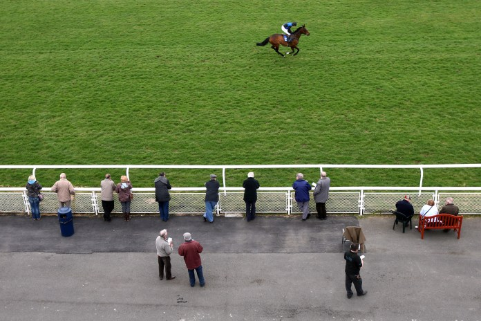 Racegoers are set to return to venues such as Ludlow in Shropshire from Wednesday next week