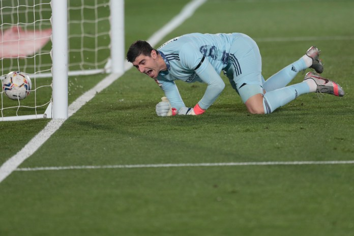Thibaut Courtois was at fault for the second goal