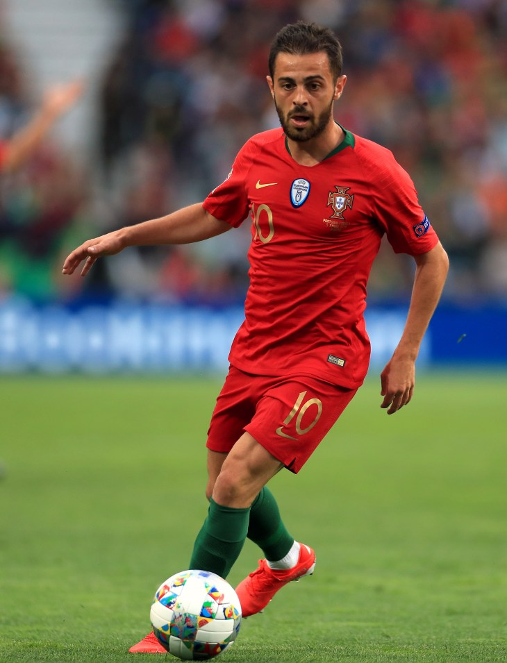 Southgate does not have the option of buying players like Bernardo Silva