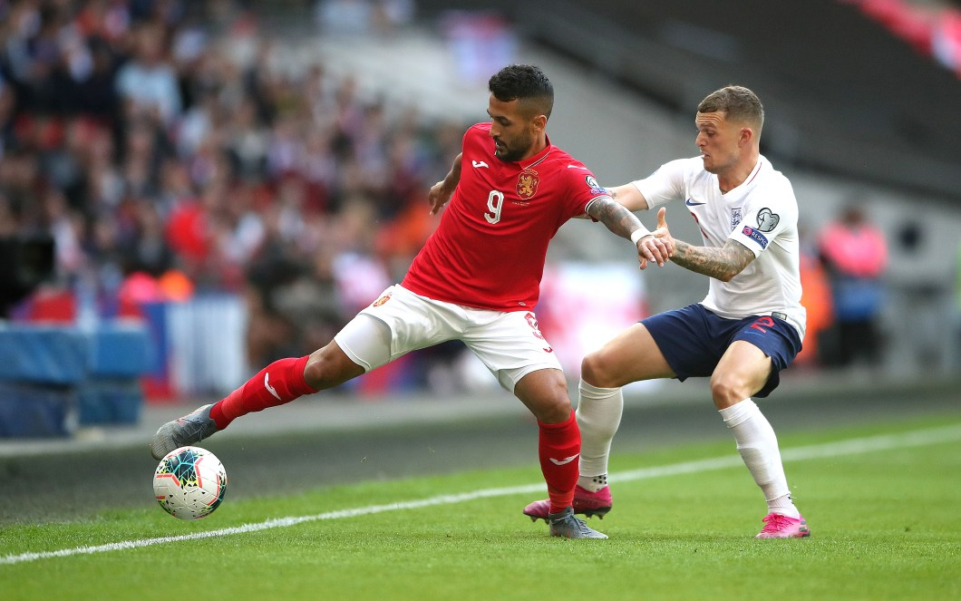 Kieran Trippier had been dropped by England boss Gareth Southgate after a difficult 2018-19 season