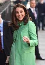 The Duchess of Cambridge is eight months pregnant with her third child (Victoria Jones/PA)