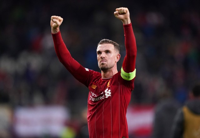 Liverpool captain Jordan Henderson has been one of the club's standout performers