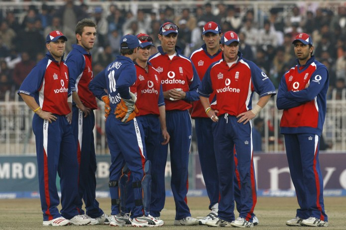 England have not toured Pakistan since 2005
