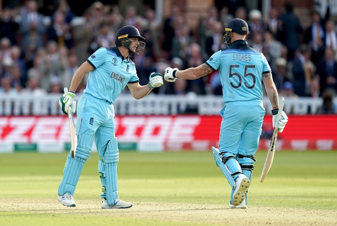 Ben Stokes (right) and Jos Buttler (left) have been flexible in their batting roles recently.