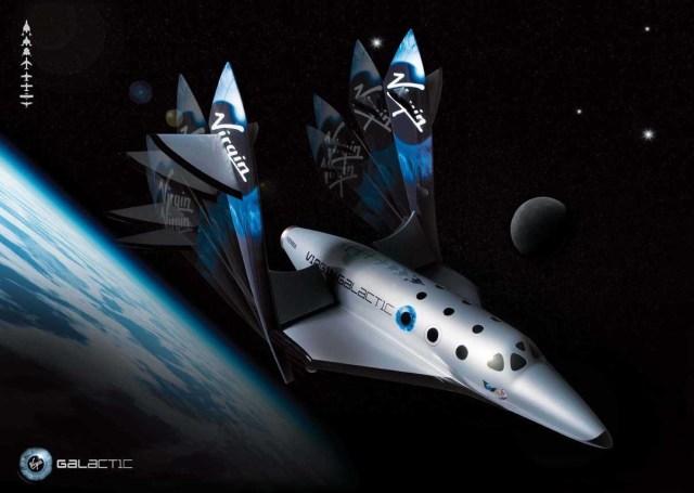 Virgin space tourist carrier
