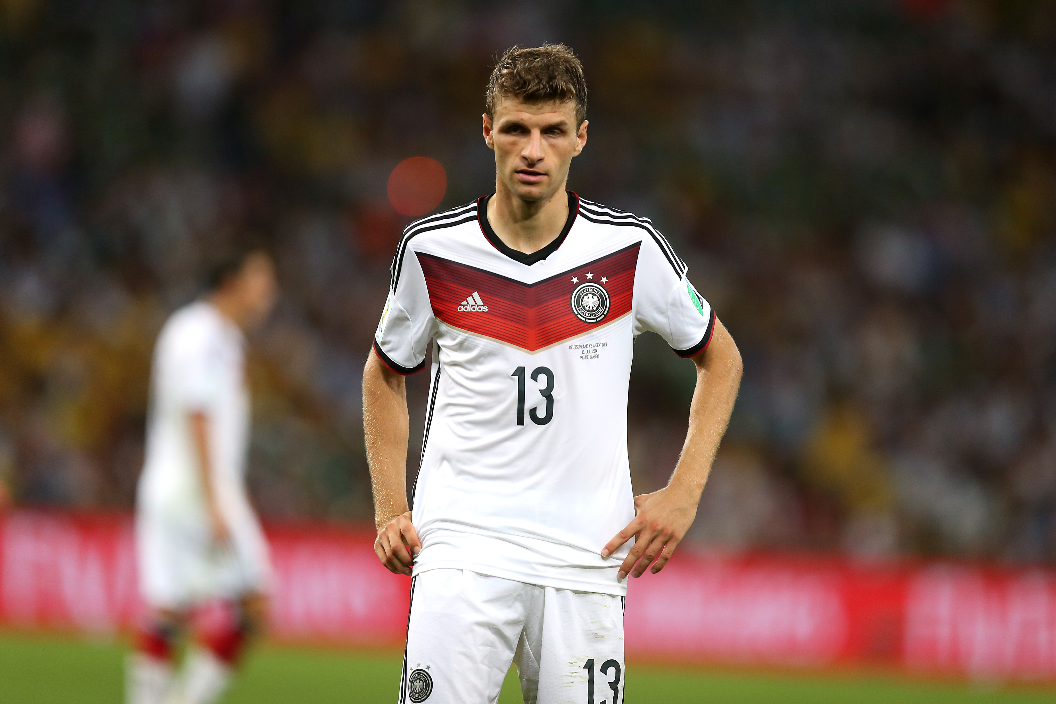 Thomas Muller made little impact for Germany this time round