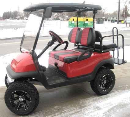 Stealth Golf Cart Wiring Diagram New 2012 Club Car 48v Red Precedent Lifted Electric Golf
