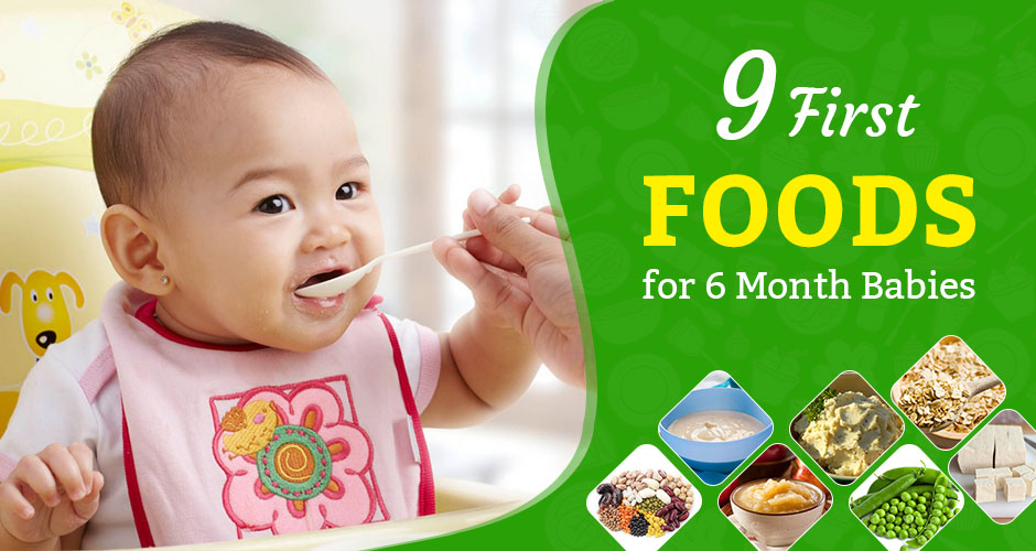 9 Wonderful First Foods For Babies Introduce Food (6 ...
