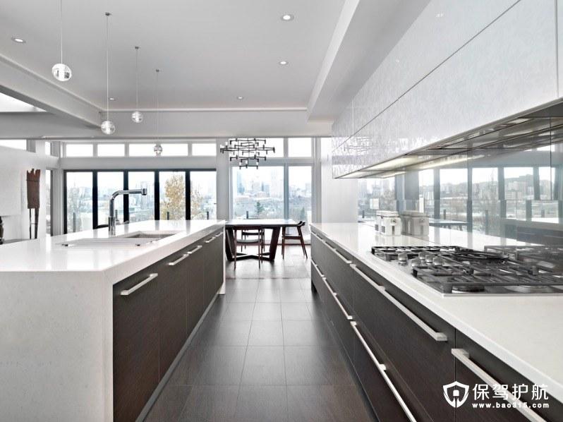 kitchen cabinets update ideas on a budget 32 inch undermount sink 现代厨房橱柜的想法为经典的外观 保驾护航装修网 厨房橱柜