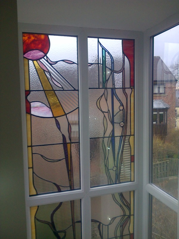Contemporary Stained Glass Window Art