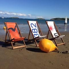 Sailcloth Beach Chairs Repair Chair Seat Webbing Deckchairs
