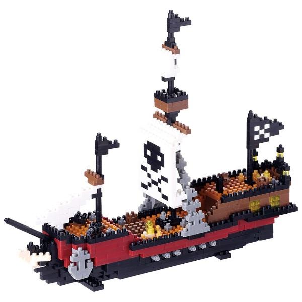 ★ナノブロック NBM-011 海賊船