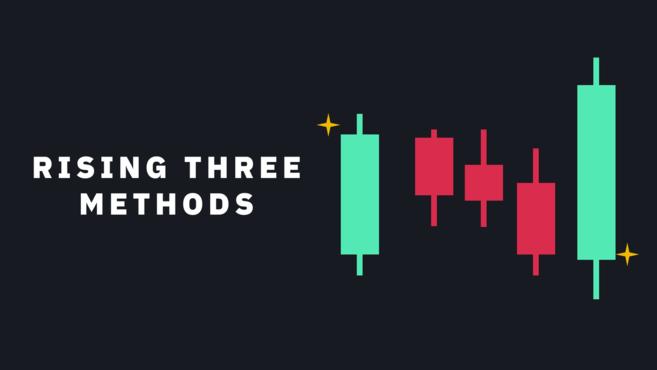 mô hình nến tiếp tục - Tăng giá ba bước