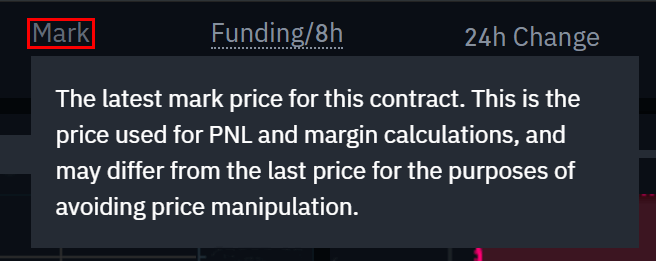 What is the difference between mark price and last price