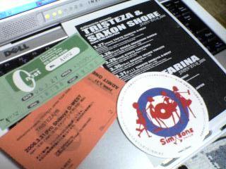 Saxon Shore japan tour tickets