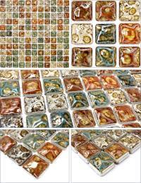italian porcelain tile backsplash bathroom walls glazed ...