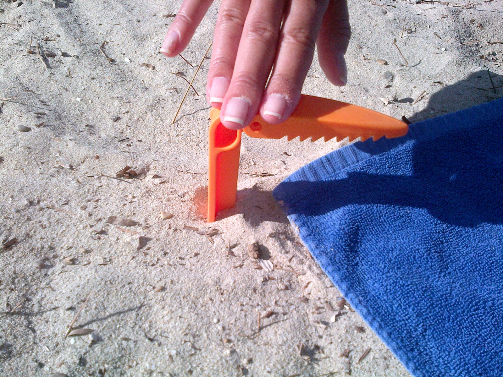 Beach Chair Clips Beach Towel Clip Orange Brand