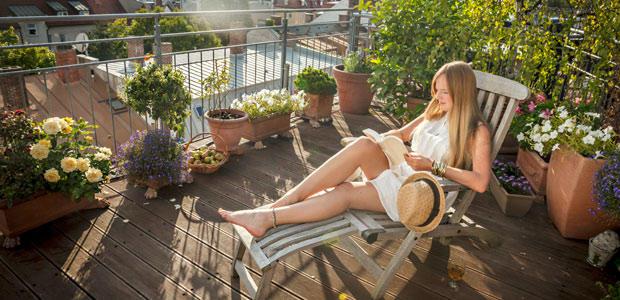 Mietrecht Sommer auf dem Balkon  so wird er stressfrei