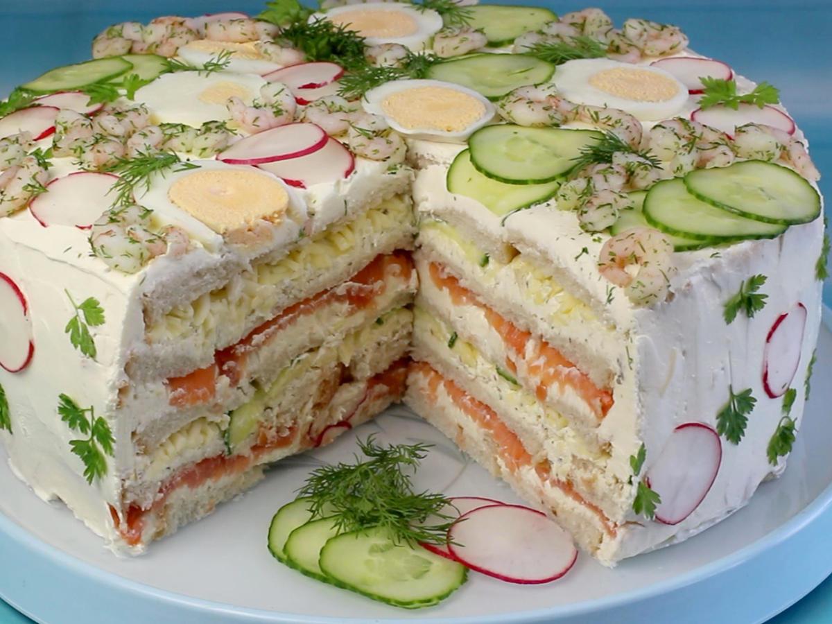 Lachs kuchen in kastenform  Appetitlich FotoBlog fr Sie