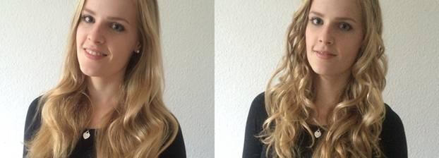 Neu Dauerwelle Vorher Nachher Mittellange Haare  openecg