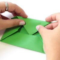 Briefumschlag falten   so geht&39;s   BRIGITTE.de