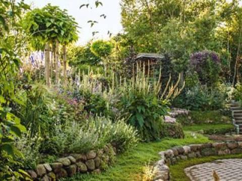 gartengestaltung natürlich gärtnern: natürlich schön: ein garten wie aus dem paradies