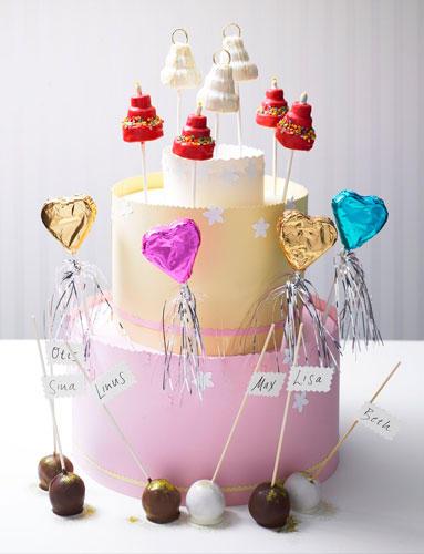 Backen Cake Pops Kuchen am Stiel  BRIGITTEde