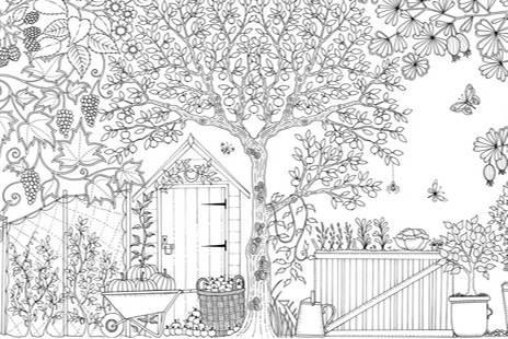 Malvorlagen Für Erwachsene Garten Batavusprorace