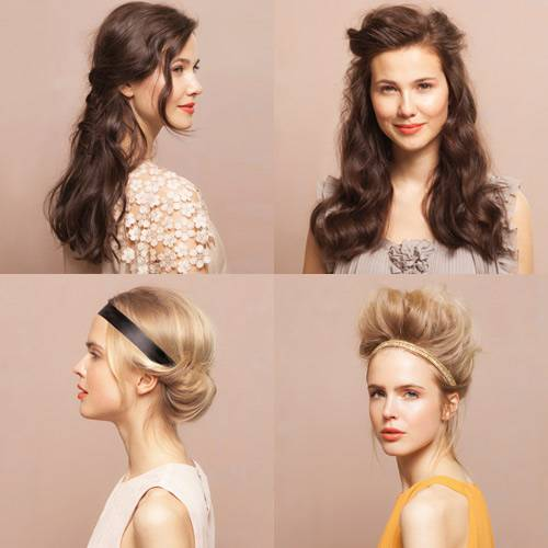 Haare Vier Frisuren Schritt Für Schritt Erklärt BRIGITTE De