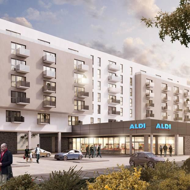 Aldi Nord bietet bald Wohnungen an  BRIGITTEde