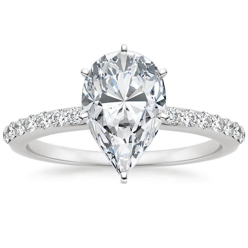 Discover Pear Shaped Diamonds Brilliant Earth