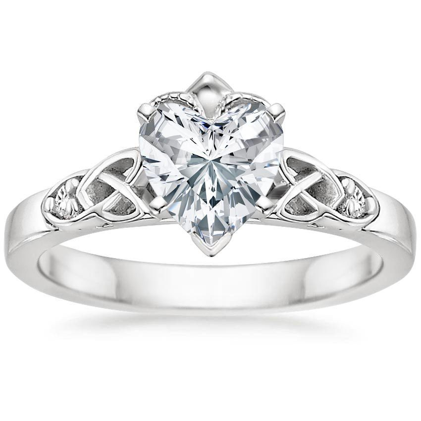 Celtic Engagement Rings  Claddagh Rings  Brilliant Earth