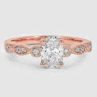 Vintage Diamond Engagement Ring | Tiara | Brilliant Earth