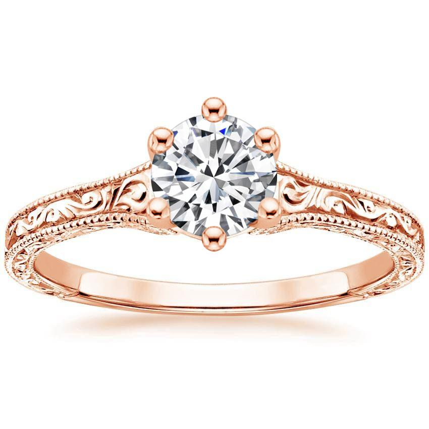 14K Rose Gold Hudson Ring