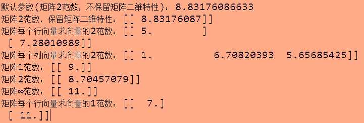numpy.linalg.norm(求範數) - IT閱讀